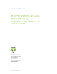 The Pros and Cons of Social Media Marketing