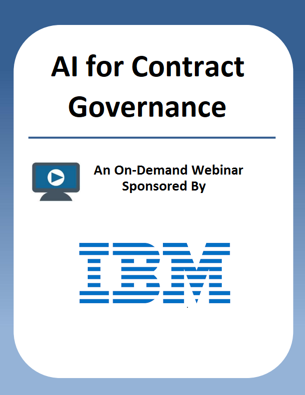 AI for Contract Governance