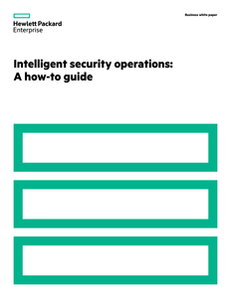 Intelligent Security Operations: A How-To Guide