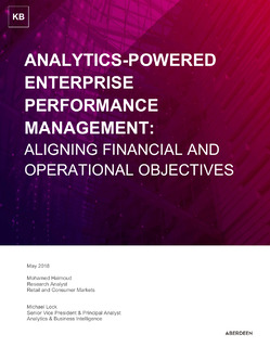 Analytics-Powered Enterprise Performance Management: Aligning Financial and Operational Objectives