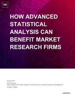 How Advanced Statistical Analysis Can Benefit Market Research Firms