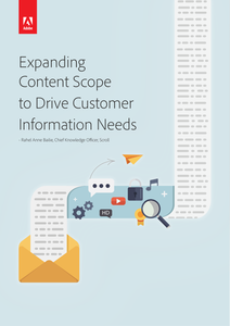 Expanding Content Scope to Drive Customer Information Needs