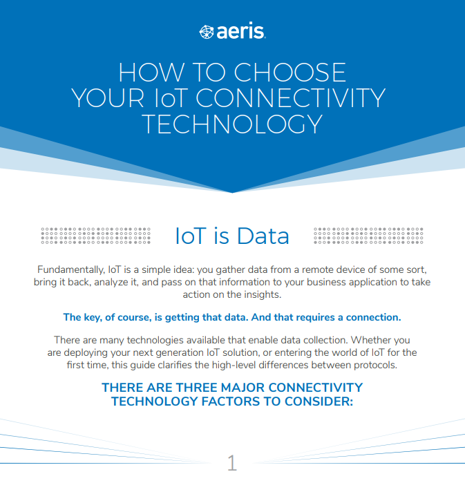 How to Choose Your IoT Connectivity Technology