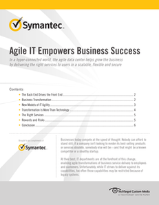 Agile IT Empowers Business Success