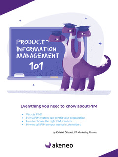 Product Information Management 101