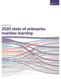The 2020 State of Enterprise Machine Learning