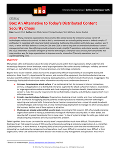 An Alternative to Today's Distributed Content Security Chaos
