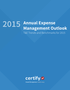 T&E Trends and Benchmarks for 2015: Annual Expense Management Outlook