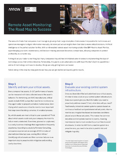 Remote Asset Monitoring: The Road Map To Success