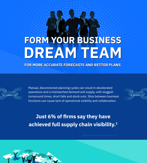 Form Your Business Dream Team for More Accurate Forecasts and Better Plans