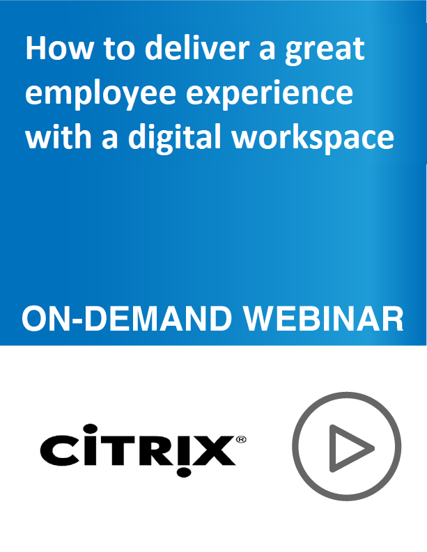 How to deliver a great employee experience with a digital workspace