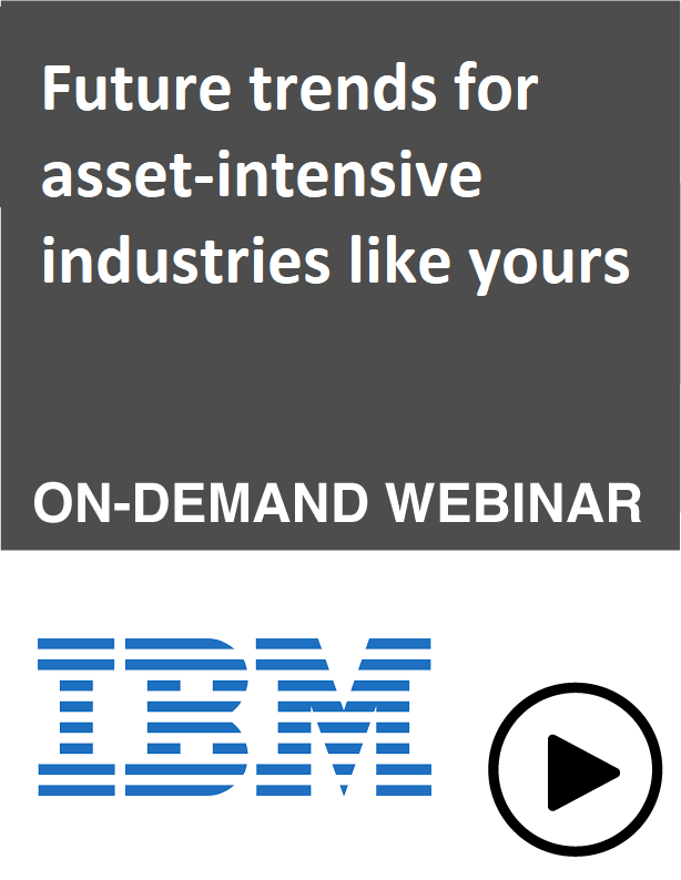 Future trends for asset-intensive industries like yours