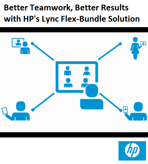 Better Teamwork, Better Results with HP's Lync Flex-Bundle Solution