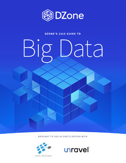 DZone's 2019 Guide to Big Data