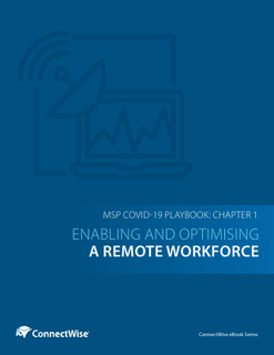 The MSP COVID-19 Playbook: Chapter 1 – Enabling and Optimising a Remote Workforce