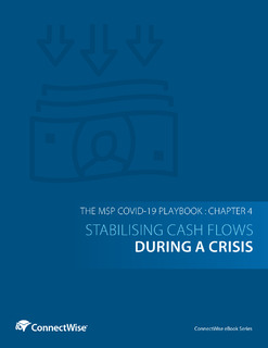 The MSP COVID-19 Playbook: Chapter 4 – Stabilising Cash Flows During a Crisis