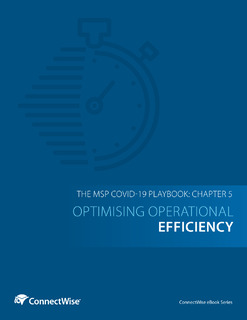 The MSP COVID-19 Playbook: Chapter 5 – Optimising Operational Efficiency