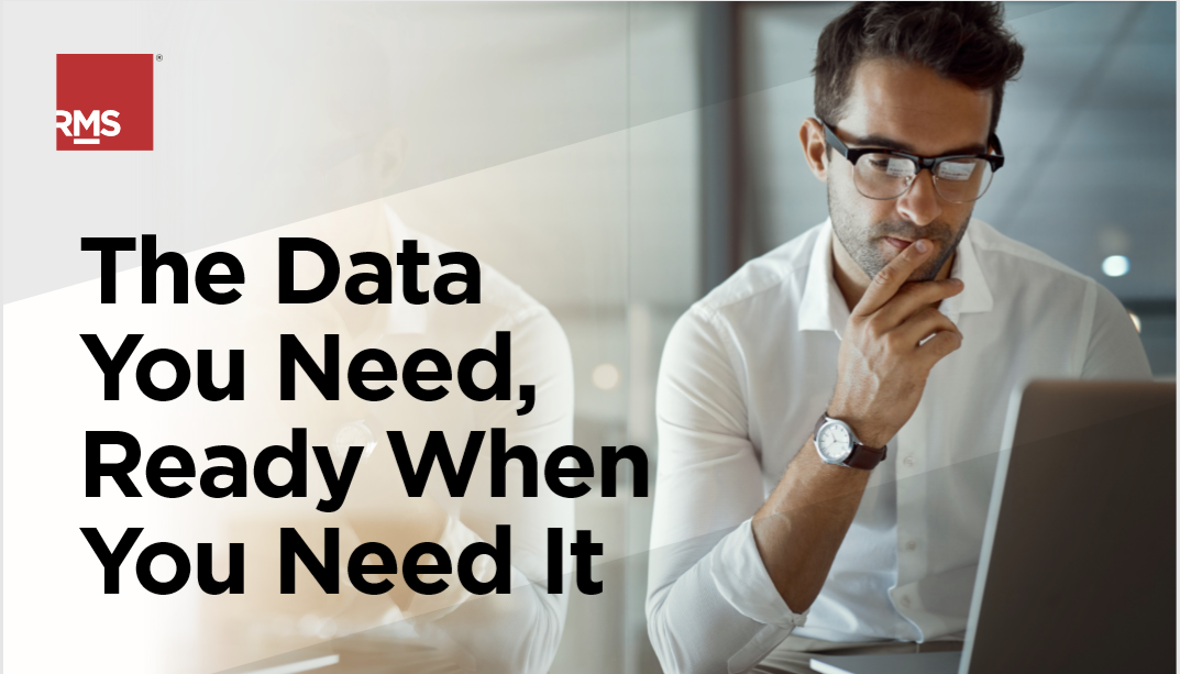 The Data You Need, Ready When You Need It
