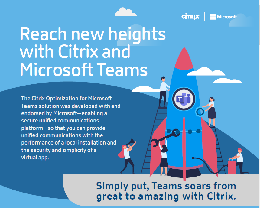 Reach New Heights with Citrix and Microsoft Teams