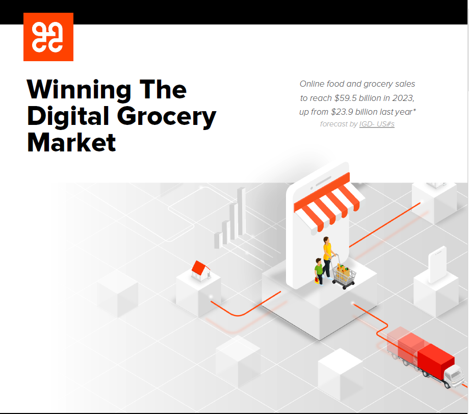 Winning The Digital Grocery Market – Infographic