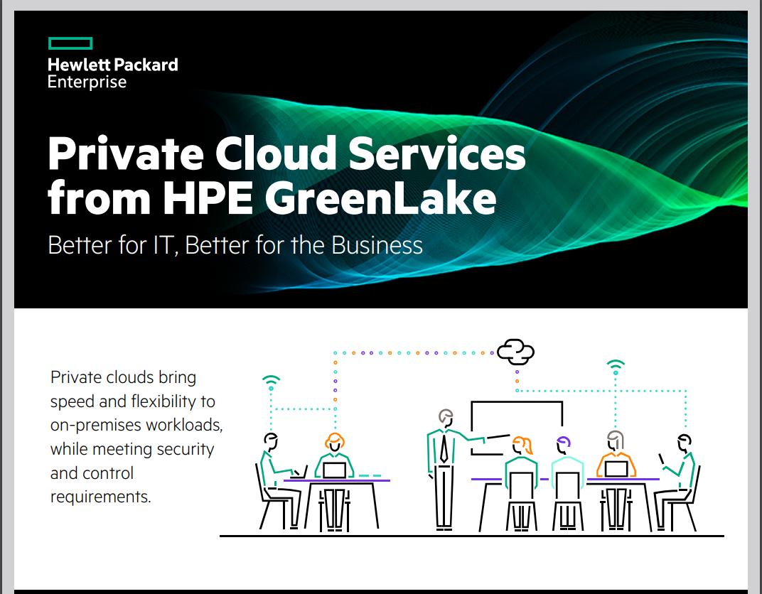 Private Cloud Services from HPE GreenLake
