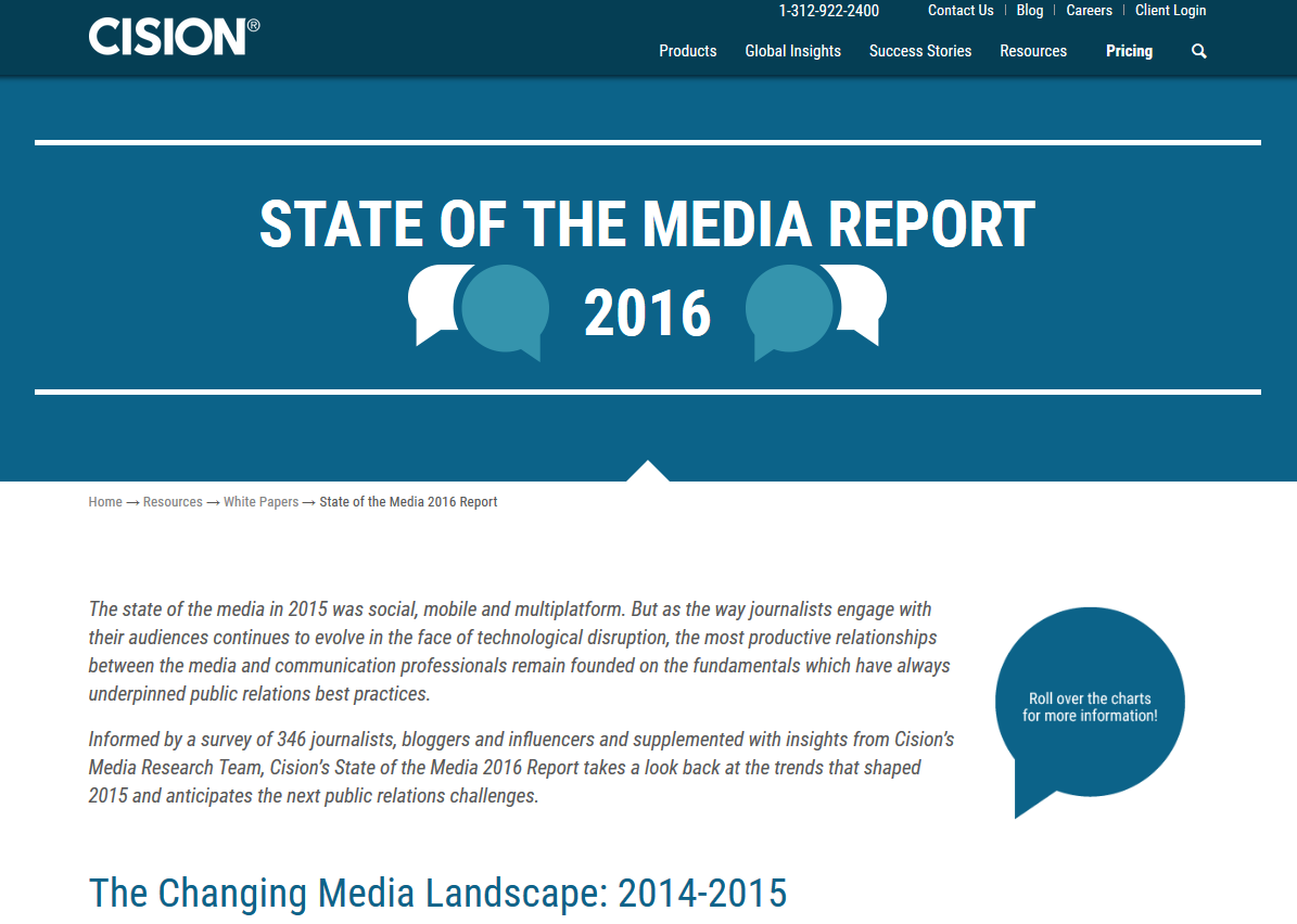 State of the Media 2016