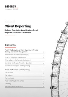 Client Reporting: Deliver Consistent and Professional Reports Across All Channels