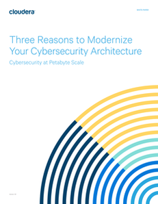 Three Reasons to Modernize Your Cybersecurity Architecture