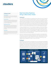 Real-time Data Pipelines: Bring in More Data, Faster