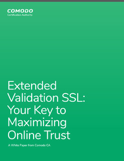 Extended Validation SSL: Your Key to Maximizing Online Trust
