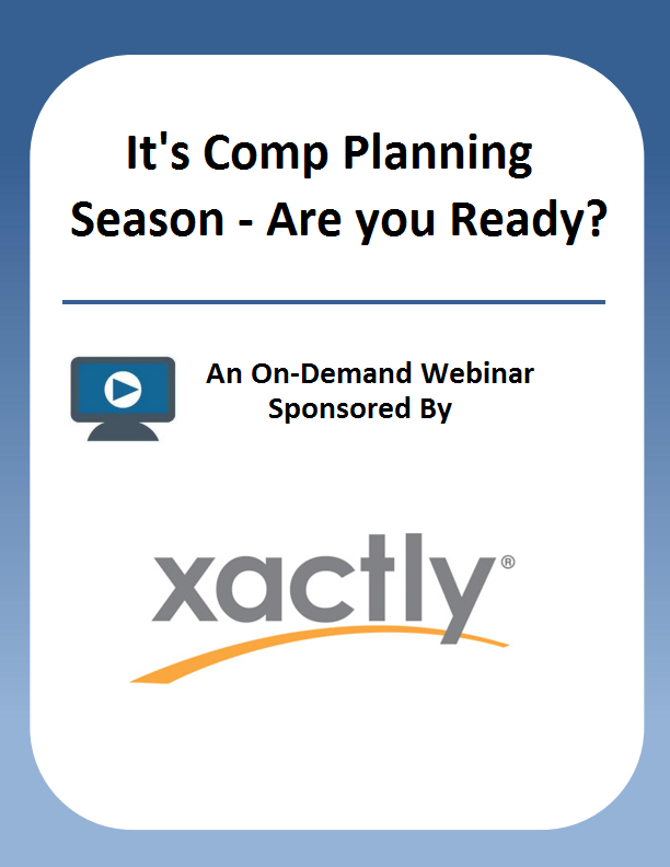 It's Comp Planning Season – Are you Ready?