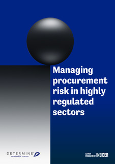 Managing Procurement Risk in Highly Regulated Sectors