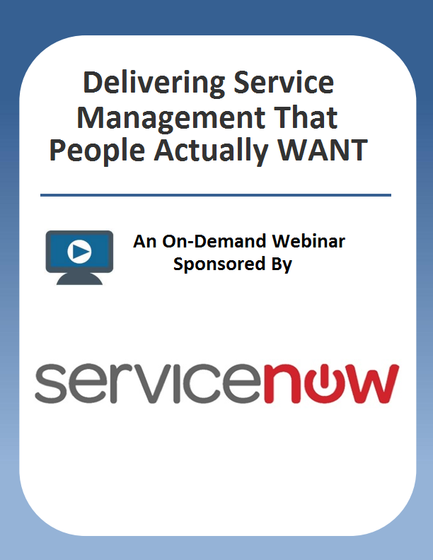 Delivering Service Management That People Actually WANT To Use
