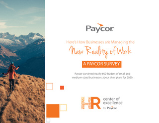 How Businesses are Managing the New Reality of Work: A Paycor Survey