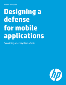 Designing a Defense for Mobile Applications