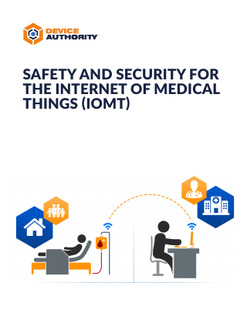 Safety And Security for the Internet of Medical Things (IoMT)