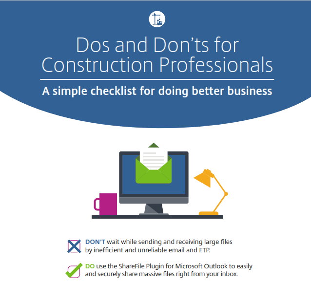 Dos and Don'ts for Construction Professionals