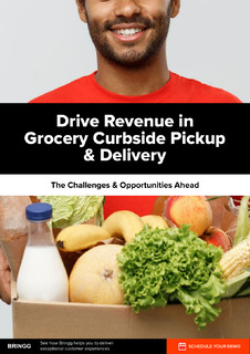 Drive Revenue in Grocery Curbside Pickup & Delivery