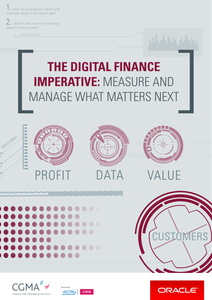 The Digital Finance Imperative: Measure and Manage