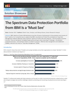 """The Spectrum Data Protection Portfolio from IBM Is a """"Must See"""""""