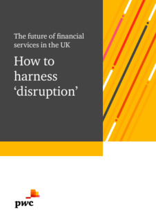 PwC report: How to harness 'disruption'