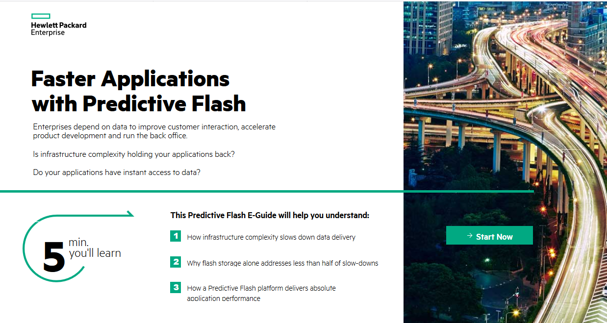 Faster Applications with Predictive Flash