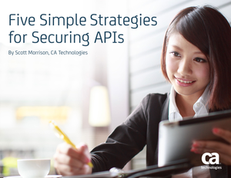 Five Simple Strategies for Securing Your APIs