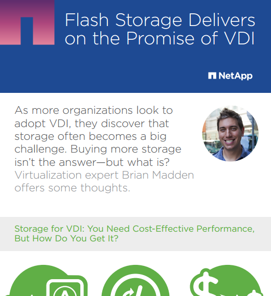 Flash Storage Delivers on the Promise of VDI