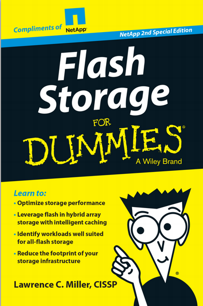Flash Storage For Dummies, NetApp Special Edition