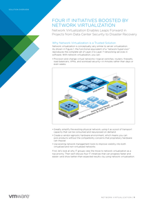 Four IT Initiatives Boosted by Network Virtualisation