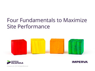 Four Fundamentals to Maximize Site Performance