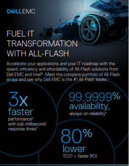 Fuel It Transformation With All-Flash