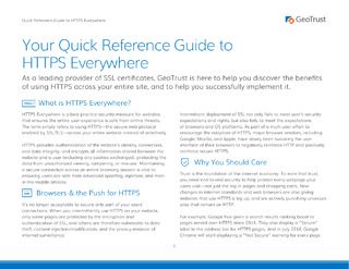 Your Quick Reference Guide to HTTPS Everywhere