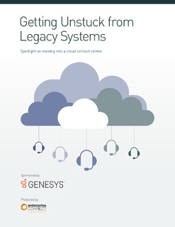 Getting Unstuck from Legacy CX System